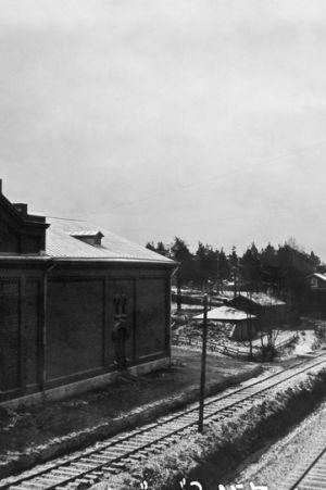Den gamla hamnbanan i Sörnäs