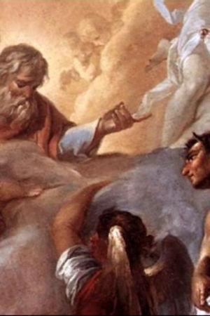 """Videostill ur Vetamix inslag """"Frågor om religion:Himmel och Helvete"""""""
