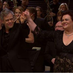 Violeta Urmana RSO:n solistina ja Hannu Lintu