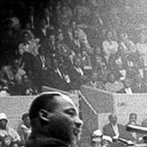 Martin Luther King Jr. puhumassa San Fransiscossa 1964