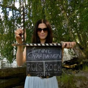 Jenni Vartiainen Ruisrockissa 2014