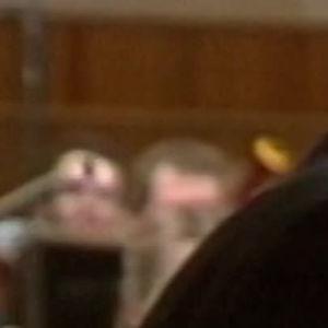 Olli Mustonen soittaa pianoa Maj Lind -pianokilpailussa 1982.
