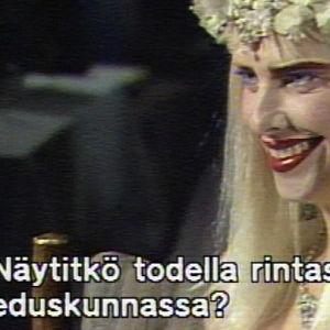 Ilona Staller (Cicciolina) Ylen haastateltavana 1988.