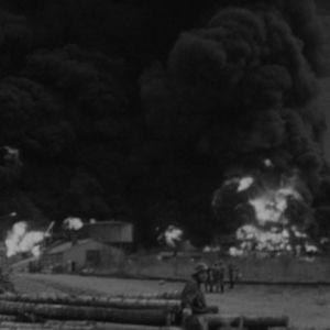 Ykspihlajan polttoainevarasto palaa 1973
