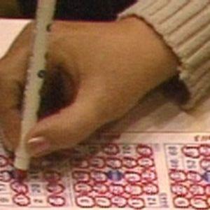 Bingokuponki täyttyy SM-kisoissa 1989.