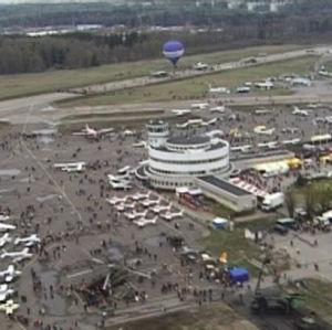 Malmin lentokenttäalue.