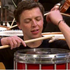 Lyömäsoittaja Martin Grubinger Radion sinfoniaorkesterin solistina