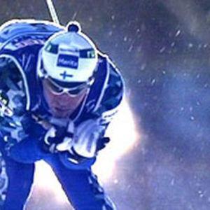 Mika Myllylä miestin viestissä lahden MM-hiihdoissa 2001