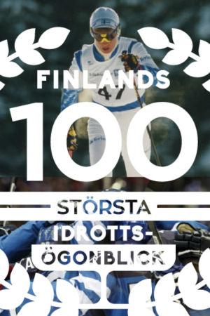 Finländska idrottsögonblick: Matti Nykänen, Marja-Liisa Hämäläinen, Tommi Mäkinen, Tiina Lillak, hockeylejonen och Jari Litmanen.