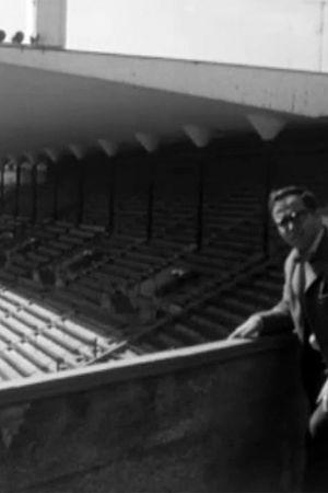 En reporter på Olympiastadion