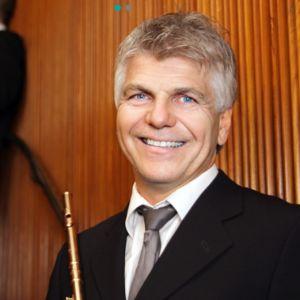 Norjan radio-orkesterin soolohuilisti Tom Ottar Andreassen