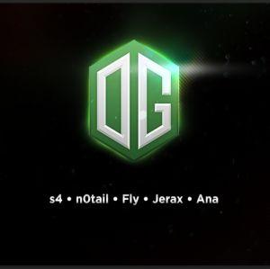 OG-joukkue pelaa Dota 2:sta