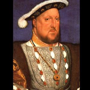 Henrik VIII Hans Holbein nuoremman maalauksessa