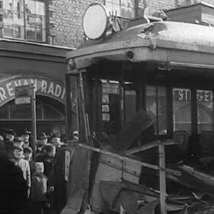 Spårvagnsolycka i Helsingfors, 1955