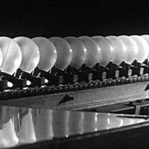 Glödlampor på Airams fabrik, 1962