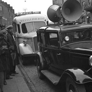Rundradions sändningsbil, Yle 1930