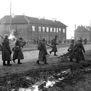 Äänislinna erövras, SA-bild 1941