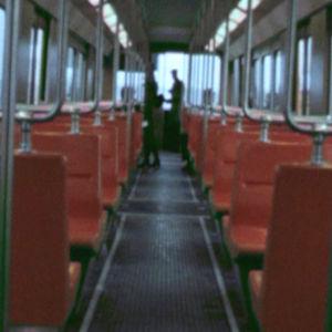 Insidan av en metro