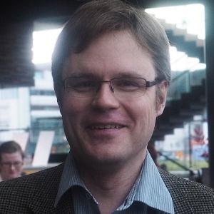 Säveltäjä Lauri Kilpiö.