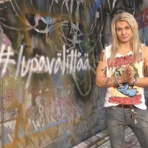 Olli Herman mukana Lupa välittää -kampanjassa
