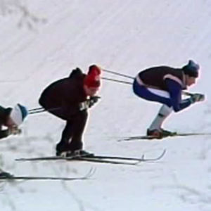 Runradion lär skidteknik, Yle 1982