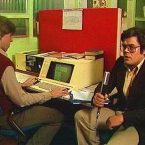När datortekniken kom till tidningsredaktionen.