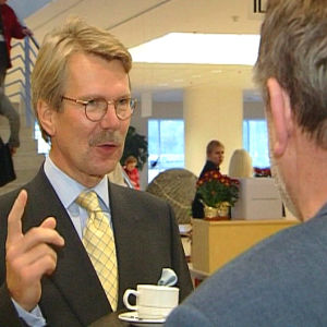 Björn Wahlroos och Claes Andersson, Yle 2002