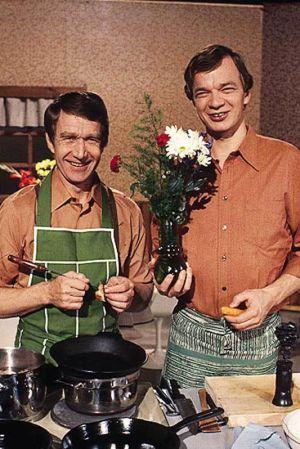 Vaijo Vanamo ja Jaakko Kolmonen.