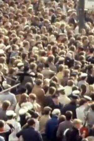 En folkmassa