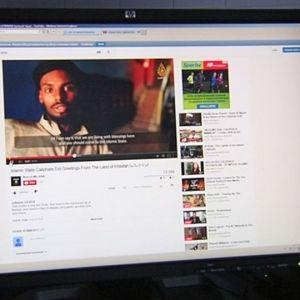 En man som talar finska syns i terrororganisationen Isis video på Youtube.