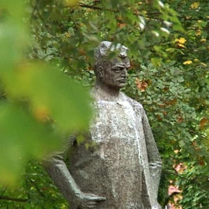 Hämeenlinna honours its most famous son.