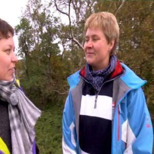 Marinbiolog Heidi Arponen berättar om nationalparken