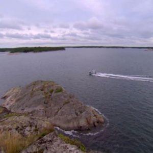 På väg ut till Skärgårdshavets nationalpark