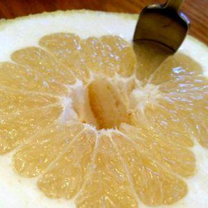 Ljus grapefrukt