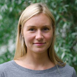 Redaktören Nanna Stenberg.