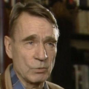 Mauno Koivisto haastattelussa henkilökuvaansa vuonna 1988.
