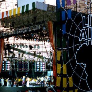 Live Aid på JFk Stadium i Philadelphia 1985