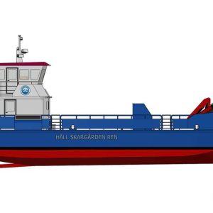 HSR rf:s nya servicefartyg
