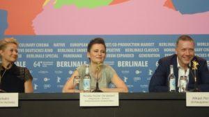 mikael persbrandt under Berlinale 2014.