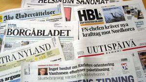 Dagstidningar.