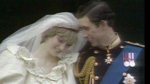 Prinsessan Diana gifter sig med prins Charles