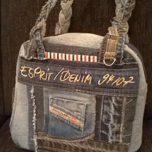 Väska av gamla jeans