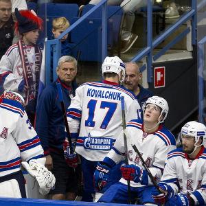Ilja Kovaltjuk fick lämna isen i förtid.