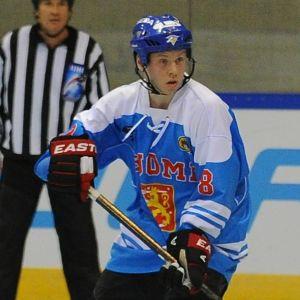 Arkivbild. Kalle Kossila spelade inlineishockey för Finland år 2013.