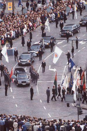 President Urho Kekkonens begravning, 1986