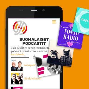Jakso.fi kerää listaa suomalaisista podcasteista
