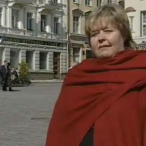 Toimittaja Ulla-Maija Määttänen Tallinnassa