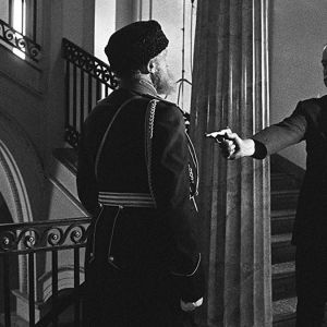 Eugen Schauman ampuu kenraalikuvernööri Bobrikovin