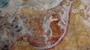 Väggmålning, Lojo kyrka