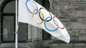 Flaggan i Kanada inför 2010